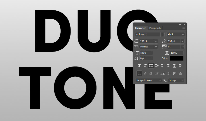 How to Create a Quick & Easy Duotone Text Effect in Adobe Photoshop