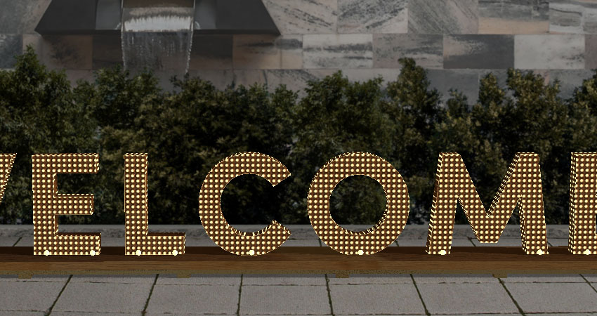 How to Create a 3D Chanel-Inspired Event Sign Text Effect in Adobe Photoshop