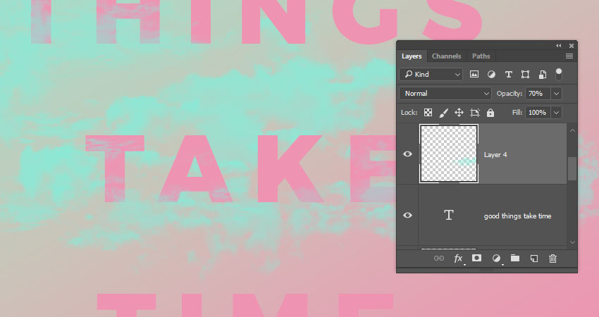 How to Create a Quick Soft Pastel Text Effect in Adobe Photoshop