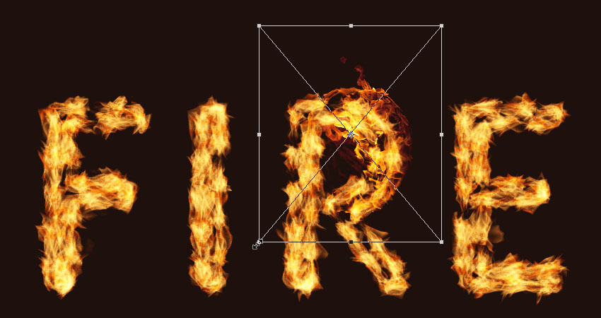How to Create a Flame Text Effect in Adobe Photoshop