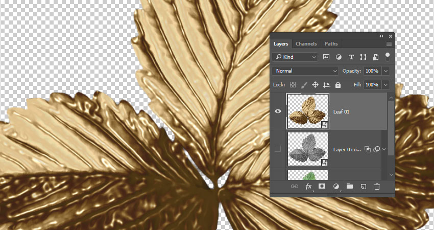 How to Create a Golden Autumn-Inspired Text Effect in Adobe Photoshop