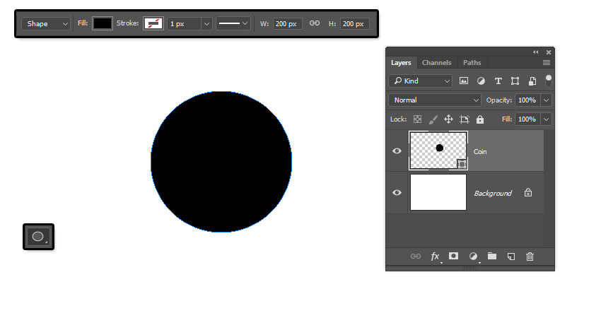 Create a Circle Shape