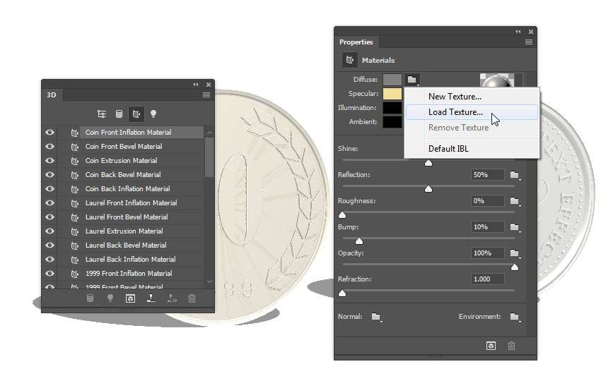 How to Create a Realistic Coin Text Effect in Adobe Photoshop