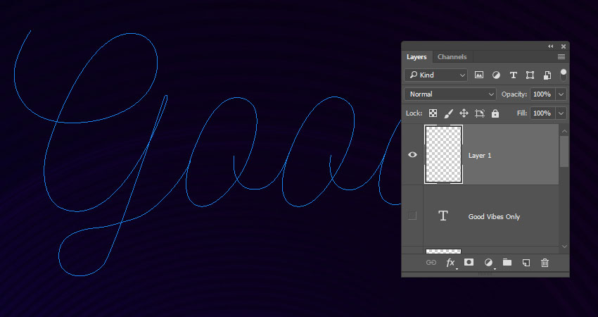 How to Create a Styled Mixer Brush Text Effect in Adobe Photoshop - ThemeKeeper.com