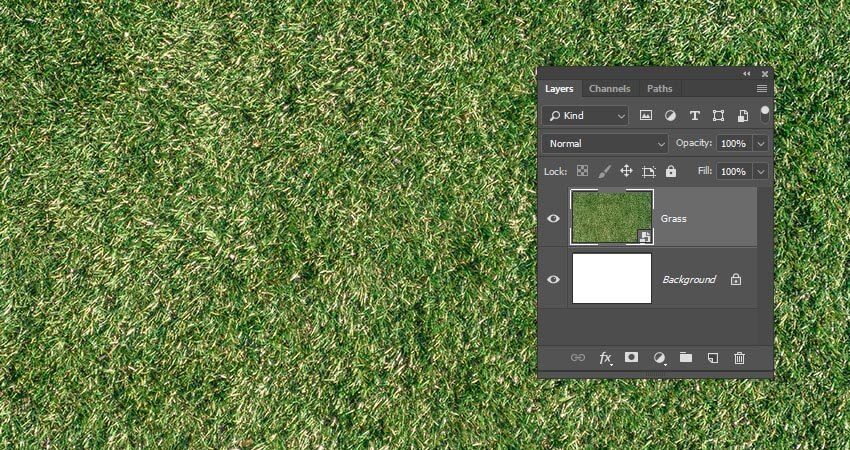 Add the Grass Texture