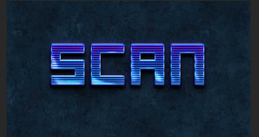Finished Text Effect