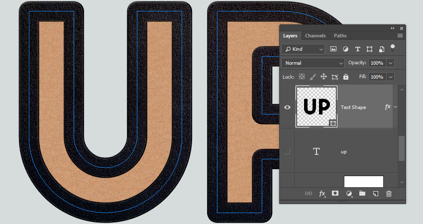 How to Create a Lace-Up Text Effect in Adobe Photoshop