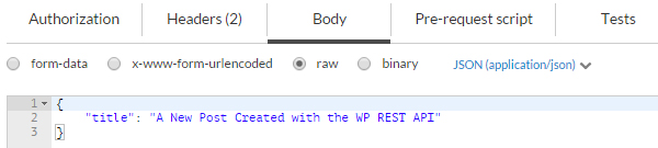 WP REST API: Creating, Updating, and Deleting Data