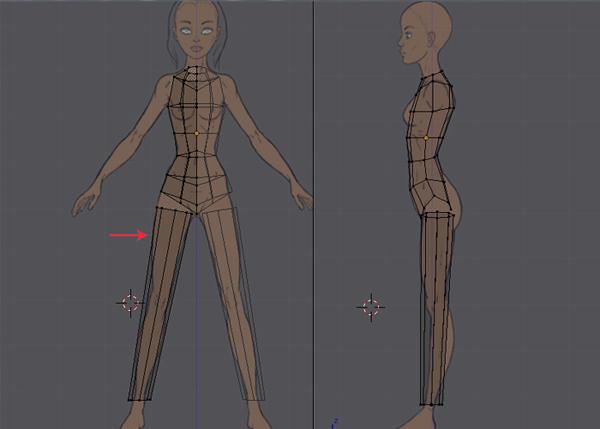 Blender Character Modeling Step By Step : Female character modeling in blender part