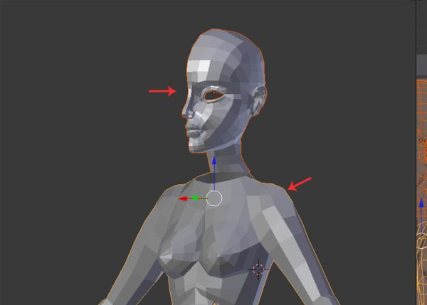 Female Character Modeling In Blender Part 5 : Female character modeling in blender part
