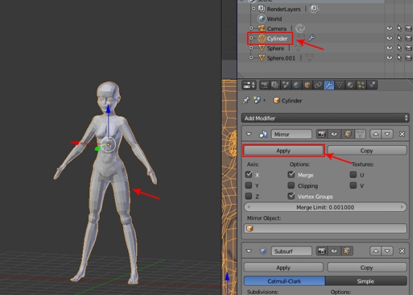 Female Character Modeling In Blender Part 4 : Female character modeling in blender part