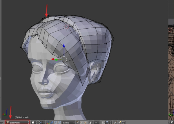 Blender Female Character Modeling Tutorial : Female character modeling in blender part