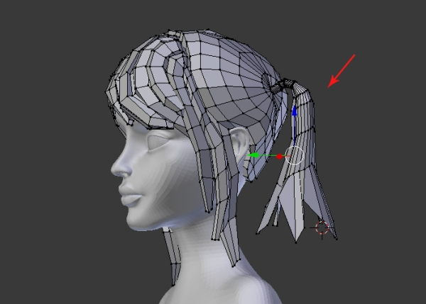 Blender Character Modeling 8 Of 10 : Female character modeling in blender part