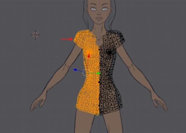 Female Character Modeling In Blender Part 7 : Female character modeling in blender part