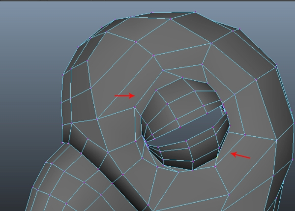 Selecting Corresponding Vertices and Merging
