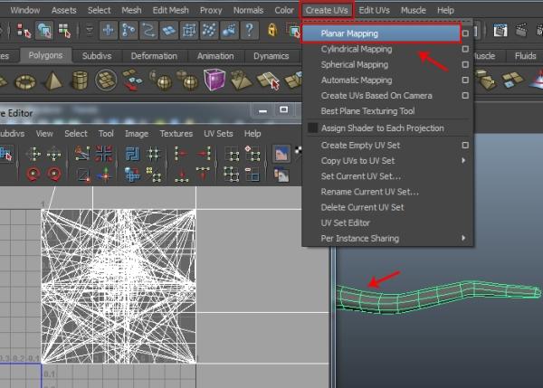 Applying Planar Mapping