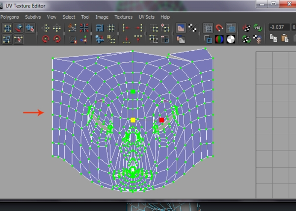 Unwrapping the Head Mesh