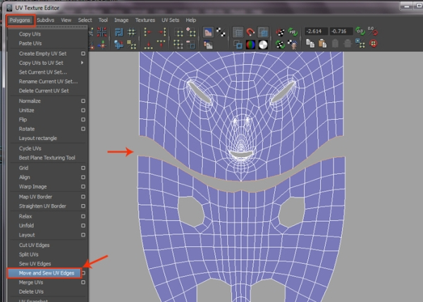 Sewing Body and Head UVs