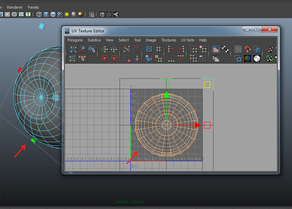 UV Texture Editor window