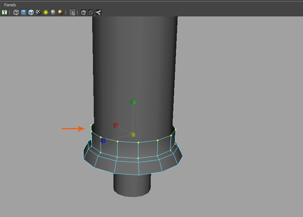 bottom cap modeling