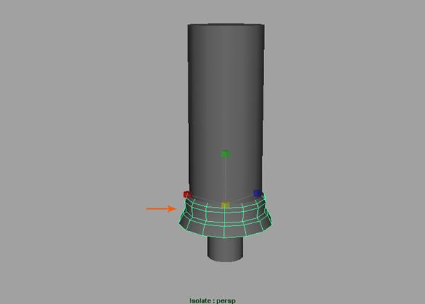 bottom cap model