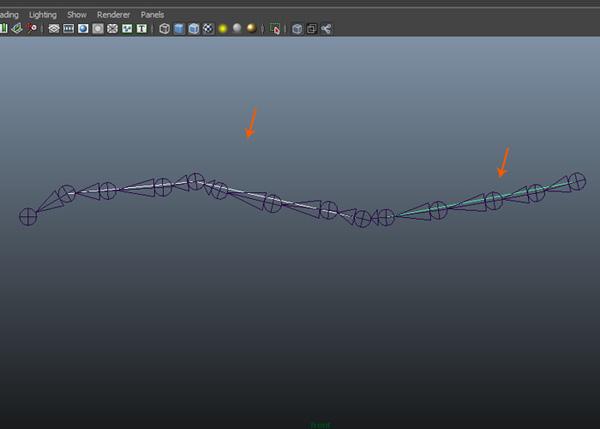 Create curve lines