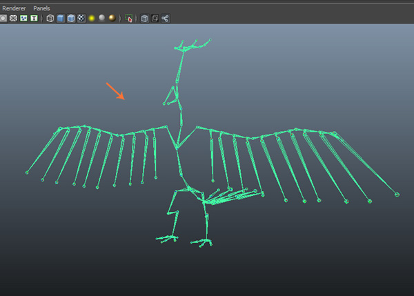 Modelling & Rigging a Cartoon Parrot in Maya: Part 9