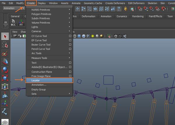 Create  Locator