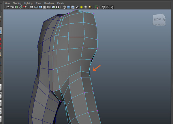 Merge all vertices