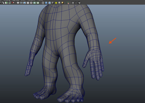 Attach the meshes together