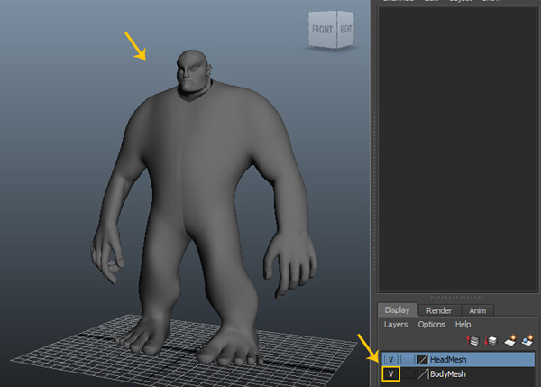 BodyMesh layer