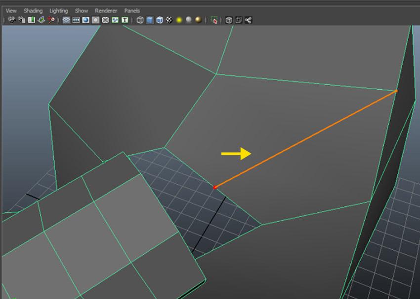 Edit Mesh  Interactive Split Tool