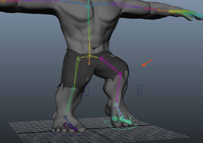 Test the leg controls