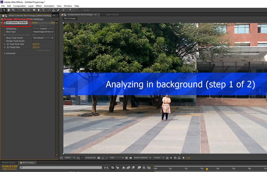 3D Camera Tracker system