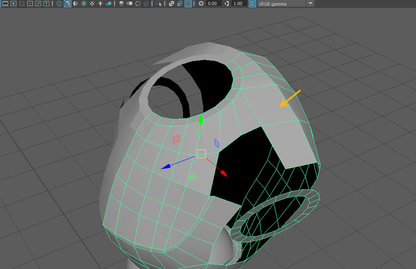 Keep merging the corresponding vertices