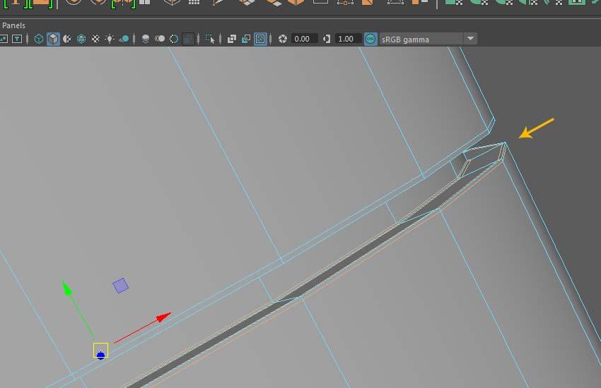 Insert Edge Loop tool