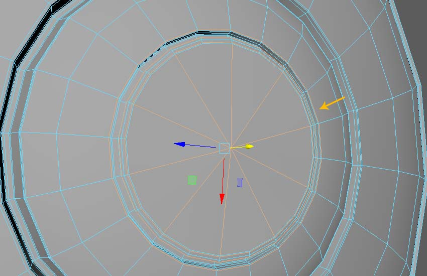 Edit and reshape the edge topology