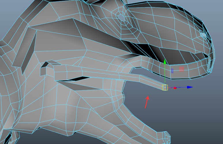 Keep extruding the faces
