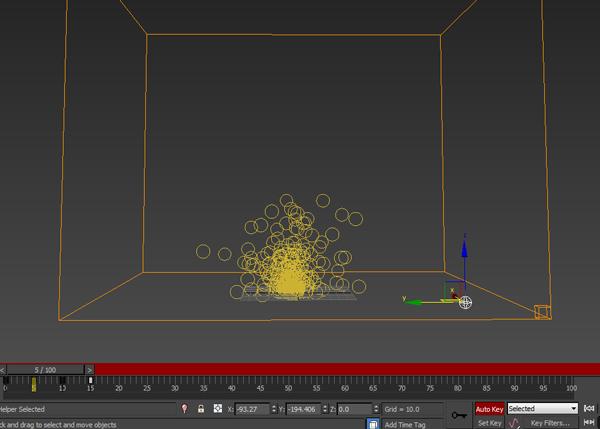 Animate the radius value