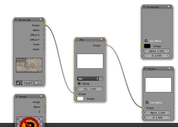 Mix node