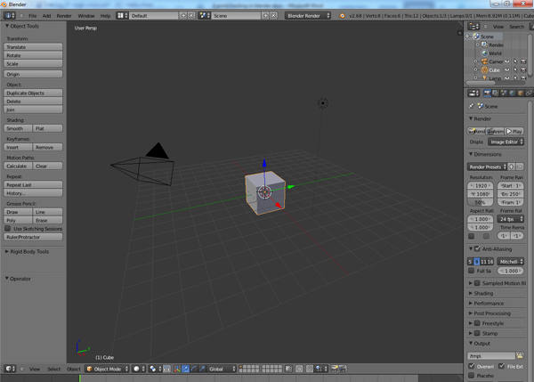 Open Blender