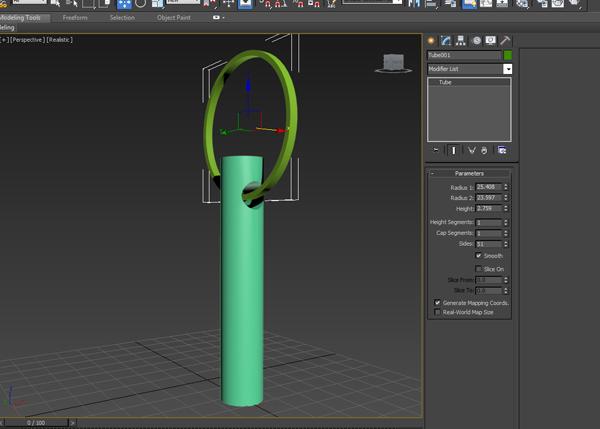 Create a tube