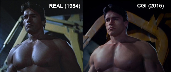 Real vs CGI Arnold