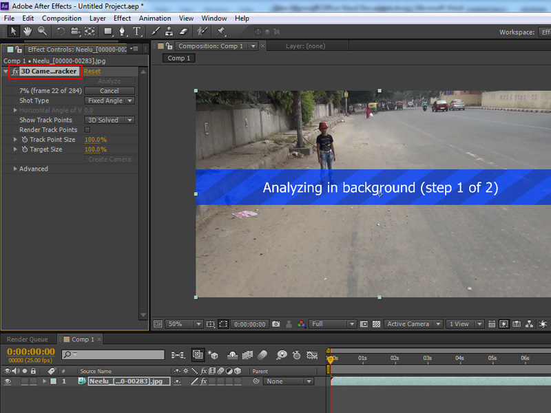 3d camera tracking in 3ds max using after effects 3d camera tracker fandeluxe Gallery