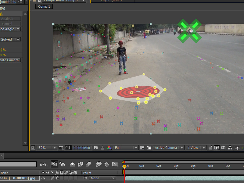 3d camera tracking in 3ds max using after effects 3d planenull fandeluxe Gallery