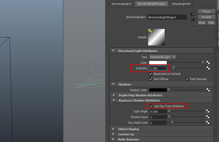 Use Ray Trace Shadow