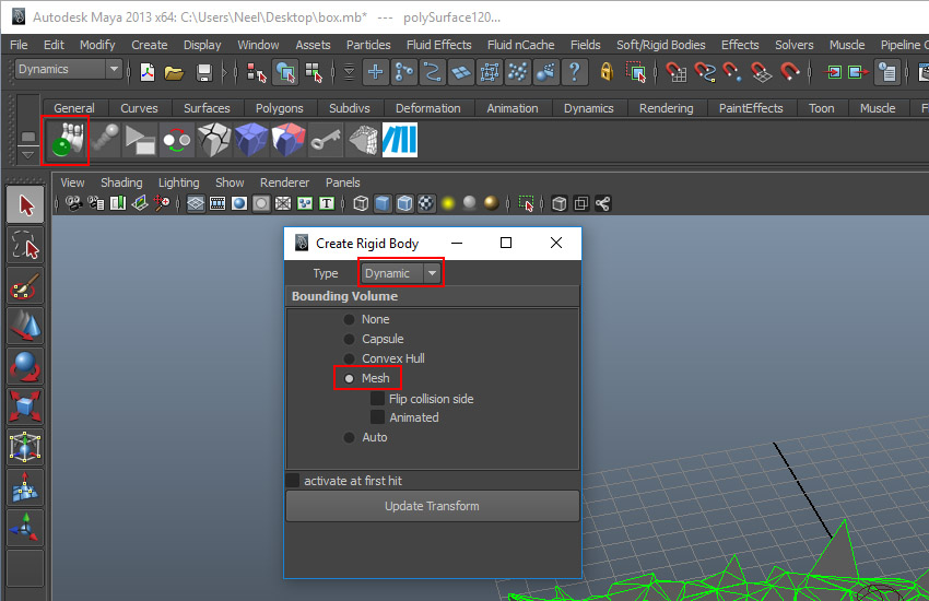 Destructing Elements in Maya With PullDownIt: Part 4