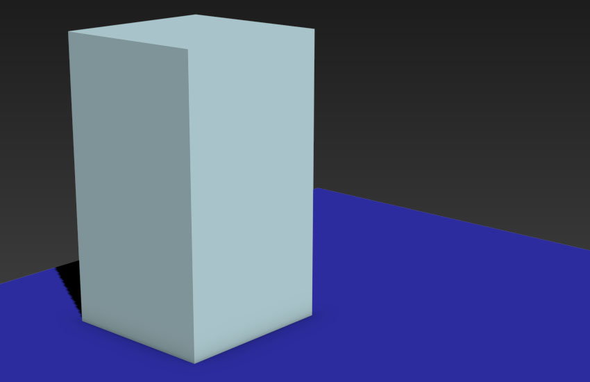 Create Standard Primitives Box