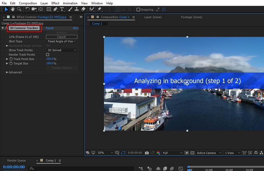 Understanding 3D Camera Tracking: Part 1