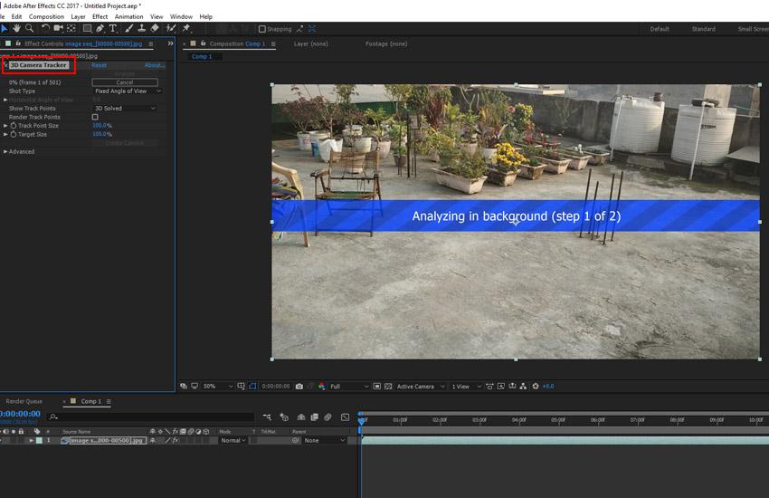 Analyzing footage